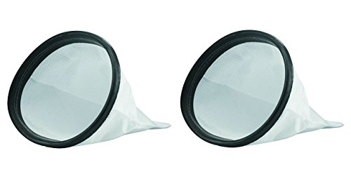 Hoover Commercial 2KE2105000 HEPA Cloth Bag Liner for Shoulder Vac Pro Vacuum Cleaner (Pack of 2)