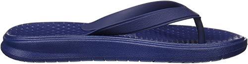 Nike 882690, Chanclas Hombre, Azul Azul Binario/Blanco