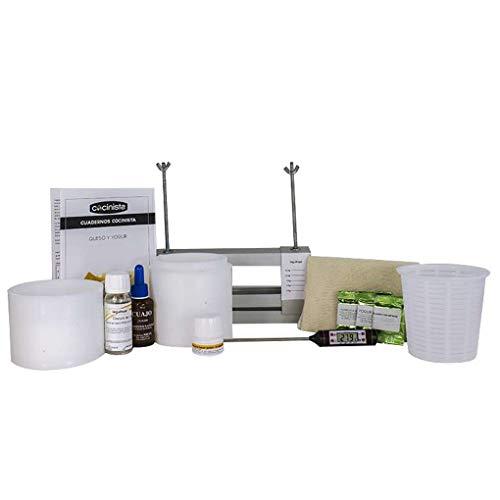 Cocinista Kit para Hacer Queso y Yogur de Luxe