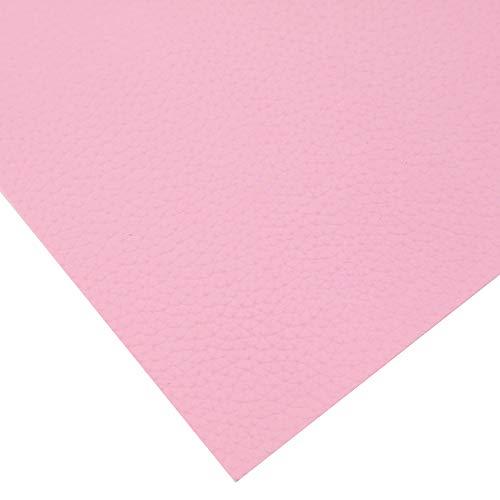 XUCZHAI Cuero Sintetico 20 * 33cm Litchi Plain Litchi Faux de Cuero sintético Artificial Tela de Costura DIY Bolsa Arcos Funda telefónica Polipiel para Tapizar (Color : 1064698020)