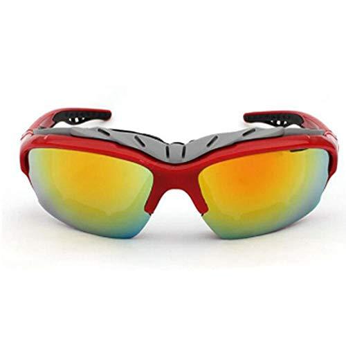 XXYQ UV400 Gafas de Sol Deportivas antiviento al Aire Libre Gafas Gafas Deportivas Coloridas Gafas de Sol Ciclismo Gafas de Sol Gafas de Bicicleta Hombres Mujeres
