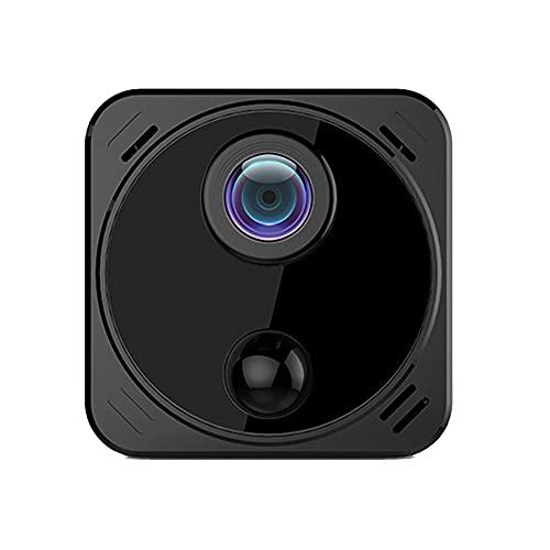 CHENPENG Telecamera Spia Mini Telecamera Nascosta 4K WiFi 1080P Telecamera di Sicurezza Domestica, con App per Telefono, IR Cut, Visione Notturna, Rilevamento del Movimento per Nanny Cam