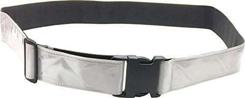 Fire Force Military 3M Hi Visibility Reflective Belt, Very Durable, Weather Resistant PT Belt Made in USA (White)