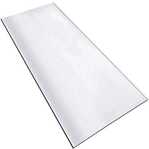 LMZJLU Mantel PVC Mesa Rectangular Transparente PláStico PVC Protector De Mesa Comedor Protector De Mesa De PláStico Transparente Resistente De 0.5 Mm para Manteles
