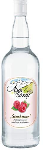 Alpenschnaps | Steinbeisser | 1 x 1l | Himbeere | pures Alpenglück im Glas