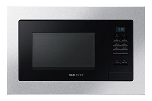 Samsung MG23A7013CT/EC Microondas de Integración con Grill, 23 L, potencia 800W.