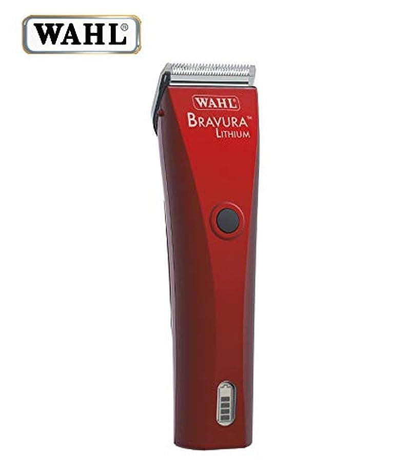 服を洗うユーモア戸棚WAHL ブラビューラ 全身カット用バリカン(ベルベットレッド)