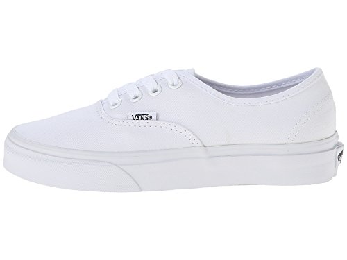 Vans Unisex Authentic Trainers Skate Shoes True White 6.5 B(M) US Women / 5 D(M) US Men