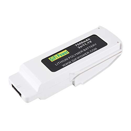 Swiftswan Leichte und kompakte 11,1 V 7500 mAh Lithium-Polymer-Batterie Wiederaufladbare Lithium-Polymer-Batterie für Blade-Farbdrohnen RC FPV-Drohnen