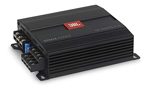 JBL Stage A6004 4-Kanal Endstufe Auto - KFZ Autoradio Verstärker 4 x 60 Watt