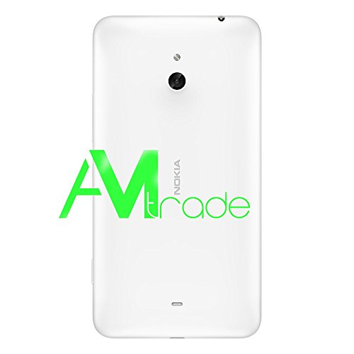 Nokia Lumia 1320 Battery Cover copribatteria originale bianco White pluridisciplinare coperchio posteriore coperchio batteria batteria alettaper copertura posteriore cassa posteriore coperchio posteriore Housing