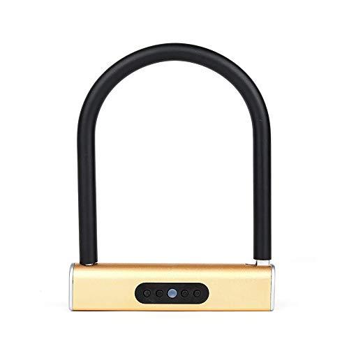 Ramingt-Outdoor Sport Bike Lock Fietsen U-Locks Smart Bluetooth U-lock Anti-diefstal Lock Anti-hydraulische Shear APP Unlock Elektrische Motorfiets Elektronische Fietsslot