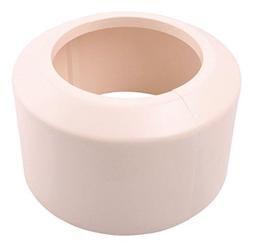 Sanitop-Wingenroth Étui de rosace pour coude de raccordement/Tuyau plastique couvercle Produit neuf, 1 pièce, pergamon, 21788 0