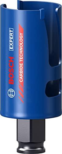 Bosch Professional 1x Scie trépan Expert Construction Material (pour Bois résineux, Ø 38 mm, Accessoire Perceuse à percussion)