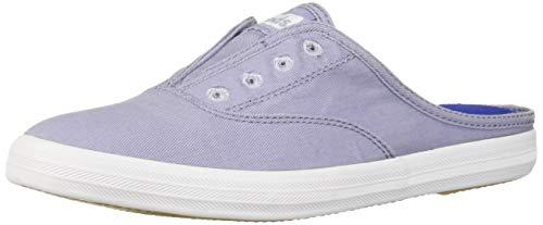 Keds Women's Moxie Mule Washed Twill Slip On Sneaker, Lavender, 5.5