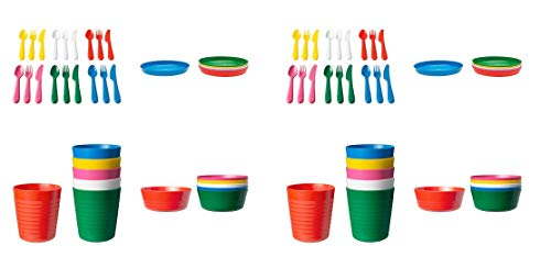 Product Image of the Ikea 36-piece Dinnerware Set, Assorted Colors