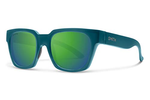 Smith Comstock Chromapop Sunglasses, Matte Crystal Deep Forest, Chromapop Sun Green Mirror