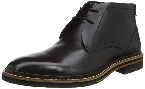 Ted Baker Men's Ankle Boots SHOES, Black, 12