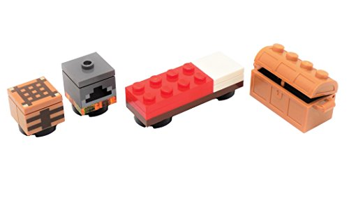 LEGO Minecraft Accessory Pack - Crafting Table, Furnace, Bed, Chest x1