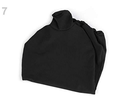 1pc 7 Negro Maniquí Cubierta de Tela, Maniquíes de Sastre, Sastres Accesorios, artículos de Mercería