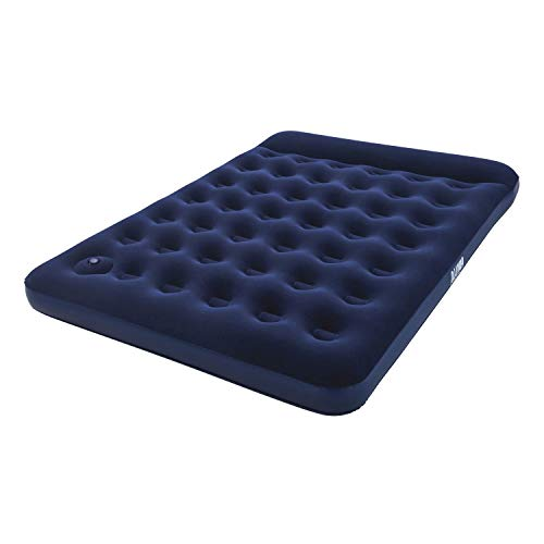 "Pavillo Luftbett mit interner Fußpumpe ""Blue Horizon Step\"" Double XL/Lo 203 x 152 x 28 cm"