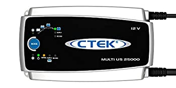 CTEK  56-674  Multi US 25000 8-step Fully Automatic 12 Volt 25 Amp Battery Charger