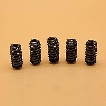 Juego de 5 piezas/lote de amortiguador de cilindro de montaje en resorte, juegos de kit premium duraderos para Husqvarna 362365371372 372XP para Jonsered 2063 2065 2071Juego de repuesto para motosie