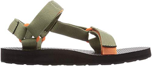 Teva Womens W Original Universal Sandal, Burnt Olive/Jaffa Orange, 7 Medium US