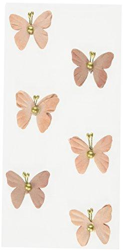 RÃ ¶ ssler 9007–178kupfer Perle Schmetterlinge Aufkleber–Vintage Rose vintage rosenmuster