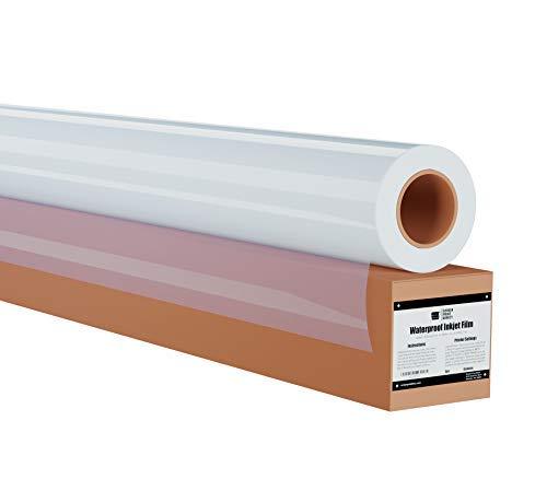 Ecotex Waterproof Screen Printing Inkjet Film Transparency 5 MIL 1 Roll 17 x 100