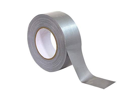 ACCESSORY Gaffa Tape Standard 48mm x 50m silber | Einfaches Klebeband für die Veranstaltungstechnik und andere Bereiche
