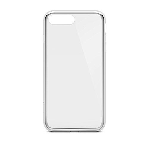 Belkin F8W849btC00 SheerForce Elite beschermhoes voor iPhone 8/7 (Polycarbonaat, Drop Protection, Full Port Access), Zwart, iPhone 8/7 Plus, iPhone 8/7 Plus, ZILVER