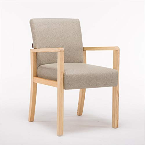 Tuqia Meubel Tea Chair Lounge Chair Computer stoel massief hout terug kruk startpagina balkon kruk woonkamer kruk met leuning woonkamermeubels stoelen