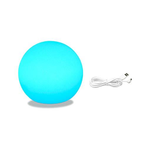 LTXDJ Lámpara de mesita de noche inteligente, luz multicolor regulable, compatible con Alexa y Google Home, luz nocturna LED con control de voz para dormitorio, el mejor regalo