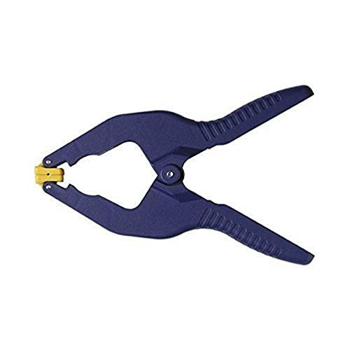 IRWIN T58100EL7 IWT58100EL7 Quick-Grip Presse-Pince à Ressort Ouverture 25 mm, Bleu