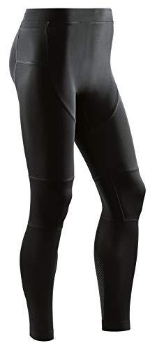 CEP – Run Compression Tights 3.0 für Damen | Lange Laufhose mit Kompression für mehr Stabilität in schwarz | Größe II