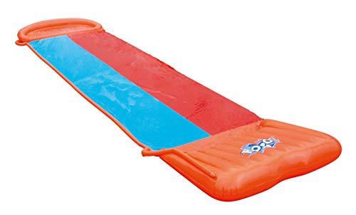 Bestway H2oGo Doppel-Wasserrutsche, mit aufblasbarer Startrampe, Double Ramp, 549 cm