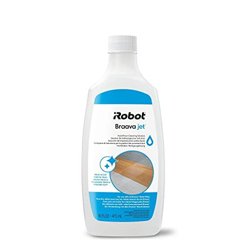 iRobot - Solution Liquide de Lavage pour Braava Jet m6 / Braava 390t / Braava 240 / Braava 250