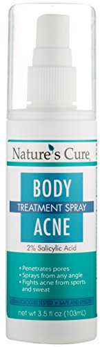 Nature's Cure Body Acne Treatment Spray - 3.5 fl oz