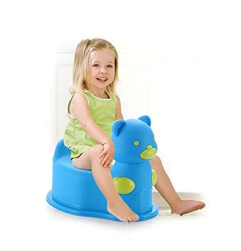 LOHOX Pot Bébé Toilette Abattant Toilette Siège de Toilettes Trainer Pot WC Amovible Dossier Confortable pour Chaise Bébé Enfants