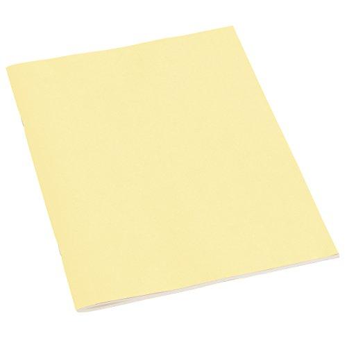 Semikolon (351441) Filigrane Heft Blanko A4 chamois (sand) - Schulheft mit 32 Blättern - 64 Seiten aus cremefarbenem 100 g/m2-Papier