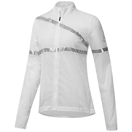 Reebok CD5465 Sportjacke für Damen M Bianco