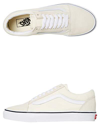 Vans Old Skool Classic White/True White Men's 5.5, Women's 7 Medium