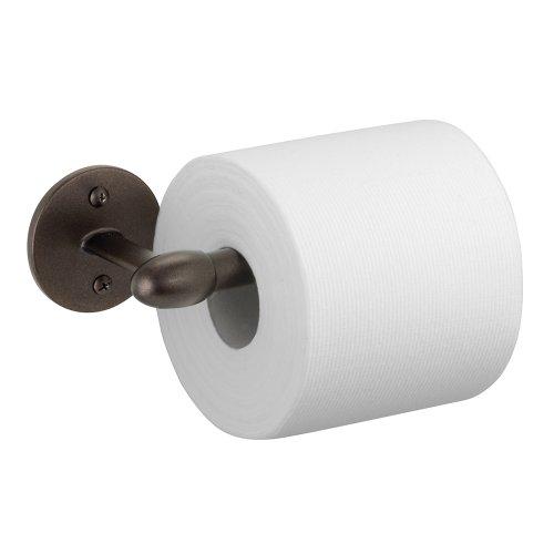 "iDesign Orbinni Steel Wall Mount Toilet Paper Dispenser - 7"" x..."
