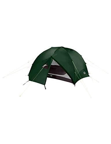 Jack Wolfskin Yellowstone III Vent 2 Eingänge 3 Personen Kuppelzelt Zelt, Mountain Green, ONE Size