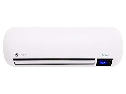 PURLINE HOTI M70 Calefactor cerámico de Pared 1000W / 2000W con Temporizador y Mando a Distancia