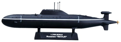 Easy Model 37304 - Maqueta del submarino ruso Akula (plá