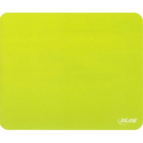 3 Stück InLine ® Maus-Pad antimikrobiell, ultradünn, grün, 220x180x0,4mm
