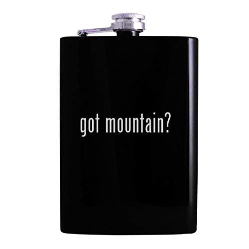 got mountain? - 8oz Hip Alcohol Drinking Flask, Black