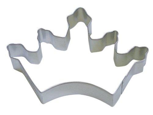 R&M Cookie Cutter, 5-Inch, Crown, Tinplated Steel
